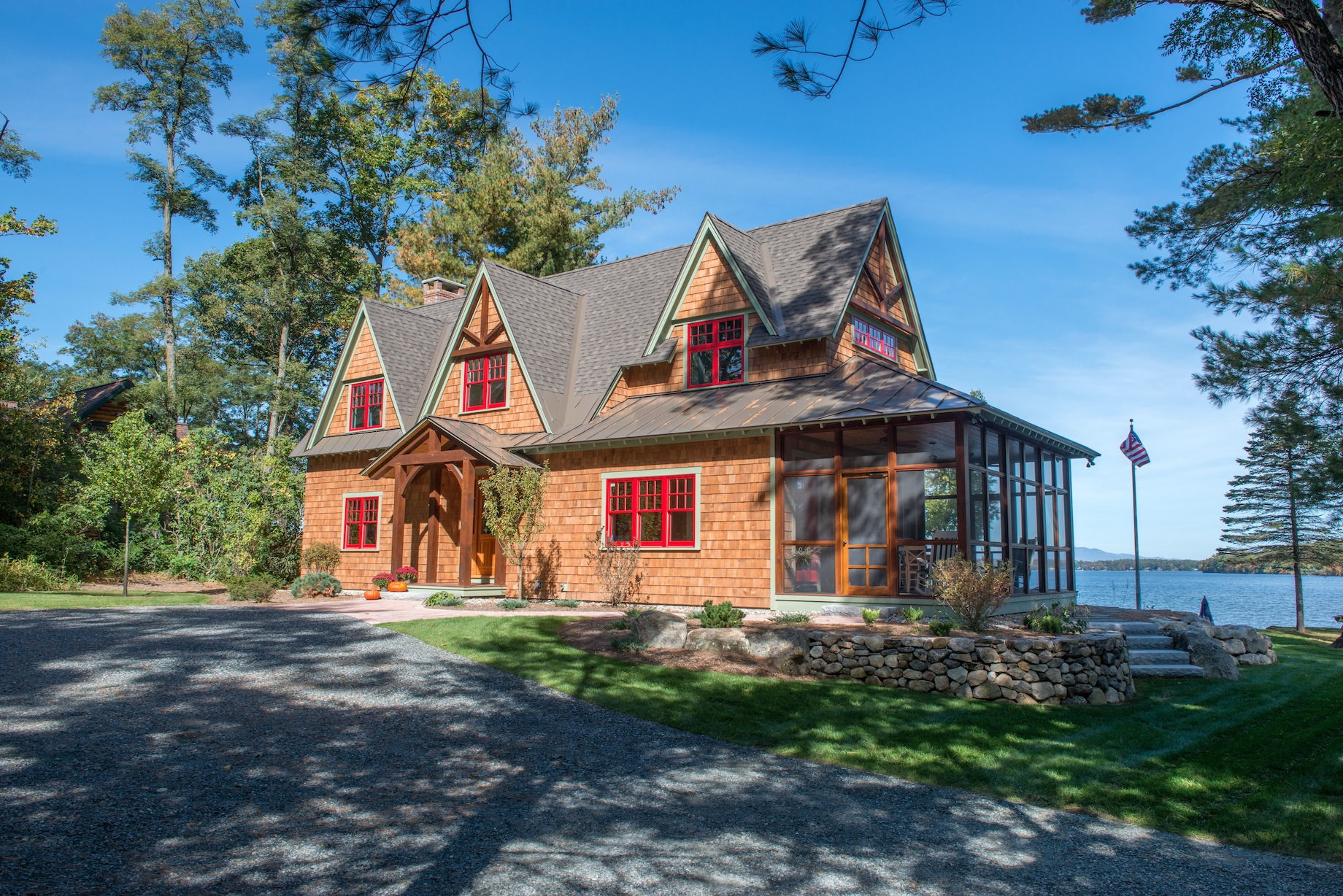 Sanbornton nh old hampshire designs for Custom home builder magazine